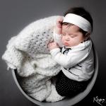 séance photo bébé au studio klimages