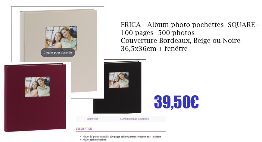album square 500ph 3coloris
